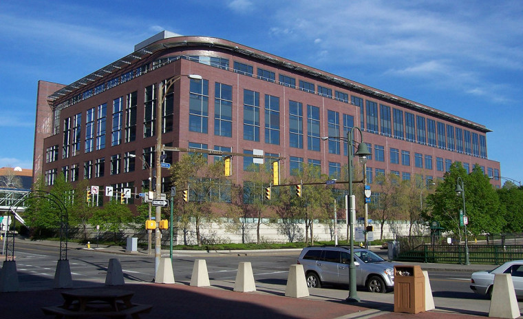 Blue Cross Blue Shields Headquarters, By DanielPenfield (Own work) [CC BY-SA 3.0 (http://creativecommons.org/licenses/by-sa/3.0)], via Wikimedia Commons