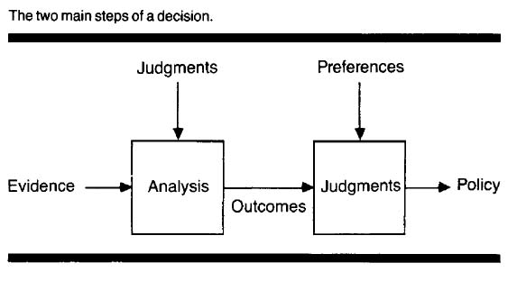 From Eddy, D. Anatomy of a decision. JAMA 1990 263(3) 441-3